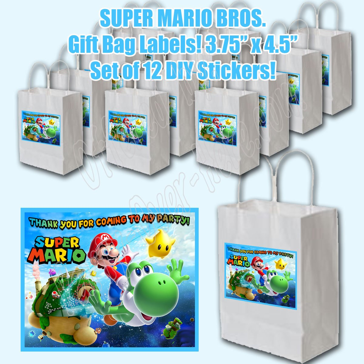 Amazon.com: Super Mario Bros Video Game Party Favors ...