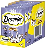 Dreamies Katzensnacks/Klassiker Klassiker, mit Ente, 6 Beutel (6 x 60 g)