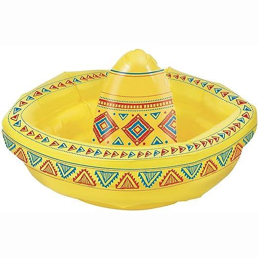 Unique Party - Sombrero Hinchable Enfriador de Bebidas