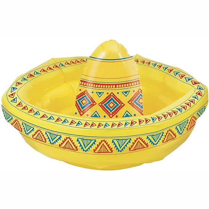 Unique Party - Sombrero Hinchable Enfriador de Bebidas: Amazon.es ...