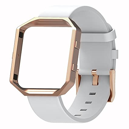 Amazon.com : Henoda Compatible with Fitbit Blaze Bands Leather Small ...
