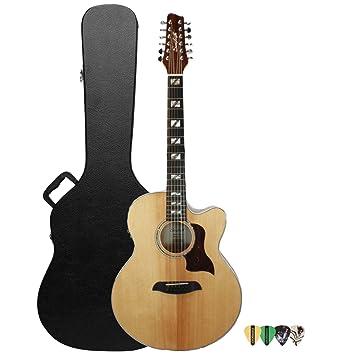 Diente de Sierra Solid Spruce Top Jumbo guitarra acústica con ...