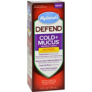 2Pack! Hylands Homepathic Cold and Mucus - Defend - 4 fl oz