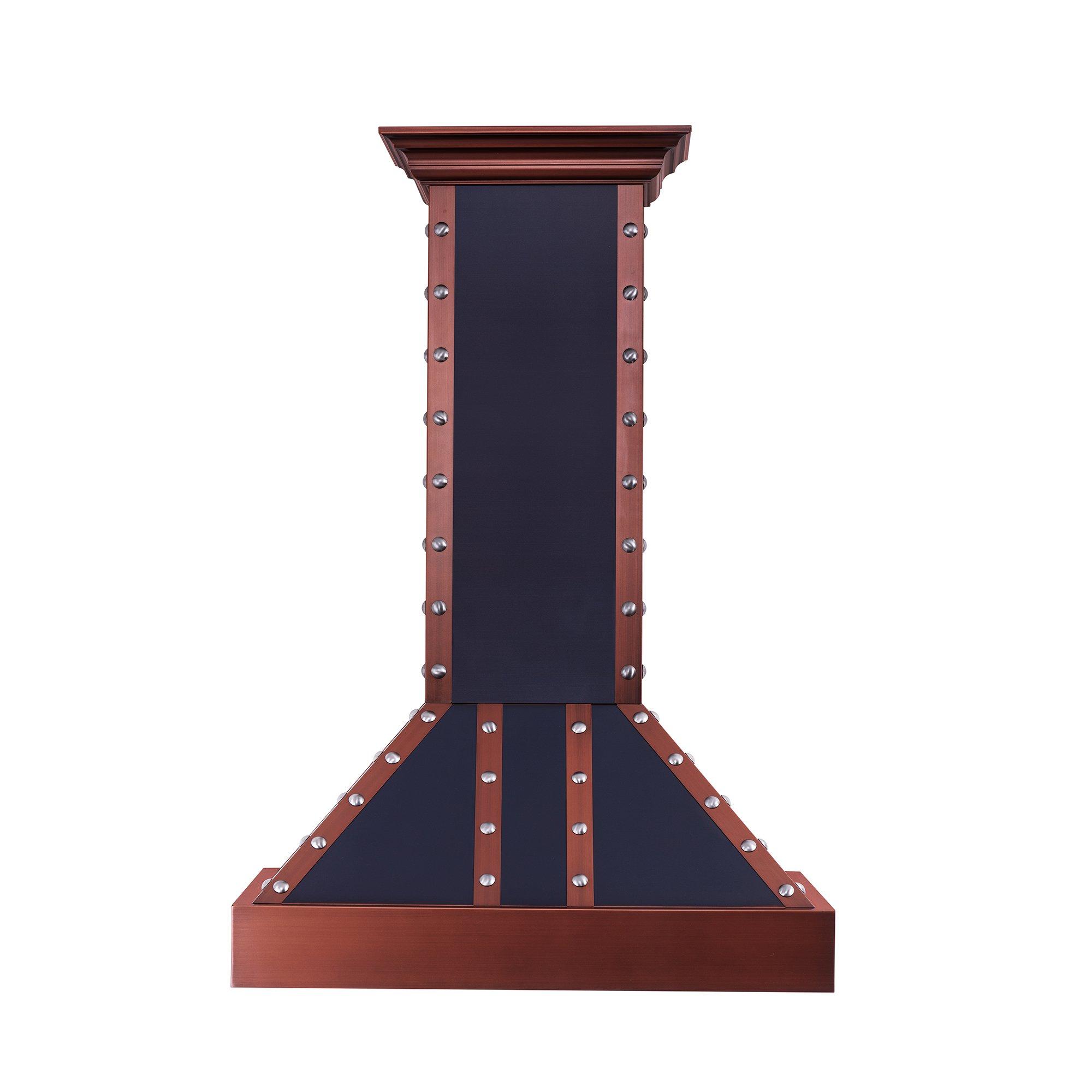 Z Line 655-BCCCS-36 36'' 1200 CFM Designer Series Wall Mount Range Hood, Oil-Rubbed Bronze by Z-Line
