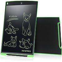 LCD Tablette d'écriture graphique dessin - NEWYES - 12 pouces Ewriter LCD Tablette d'écriture Bon Marché Mémo Pad magnétiques bloc-notes Notepad comprend 1Stylo 2 Aimants (vert)
