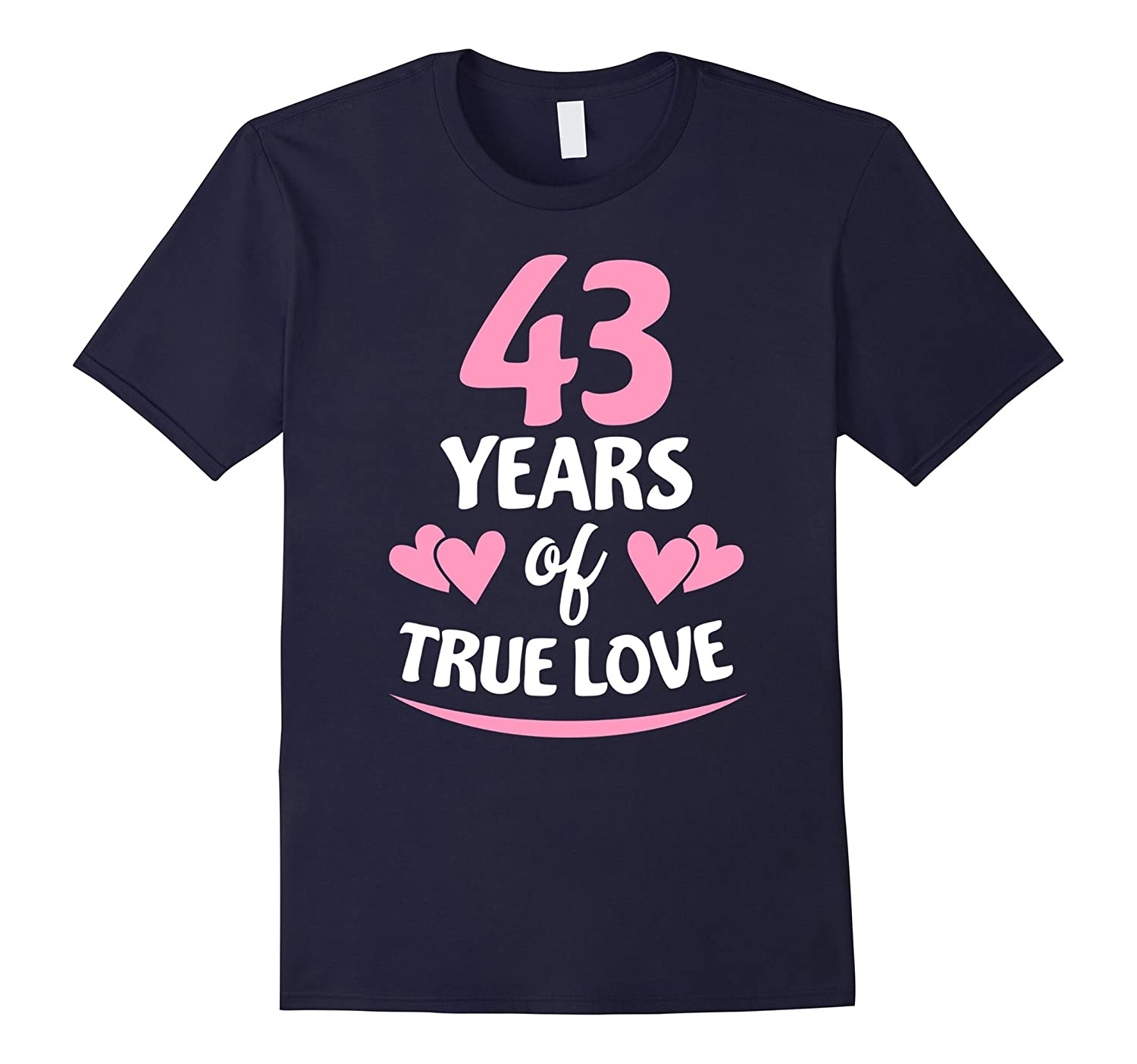 43rd Anniversary Gift for Mom and Dad T-Shirt-PL