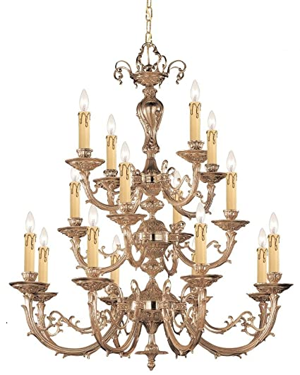 Amazon.com: Olde – Lámpara de techo con brazos de latón ...