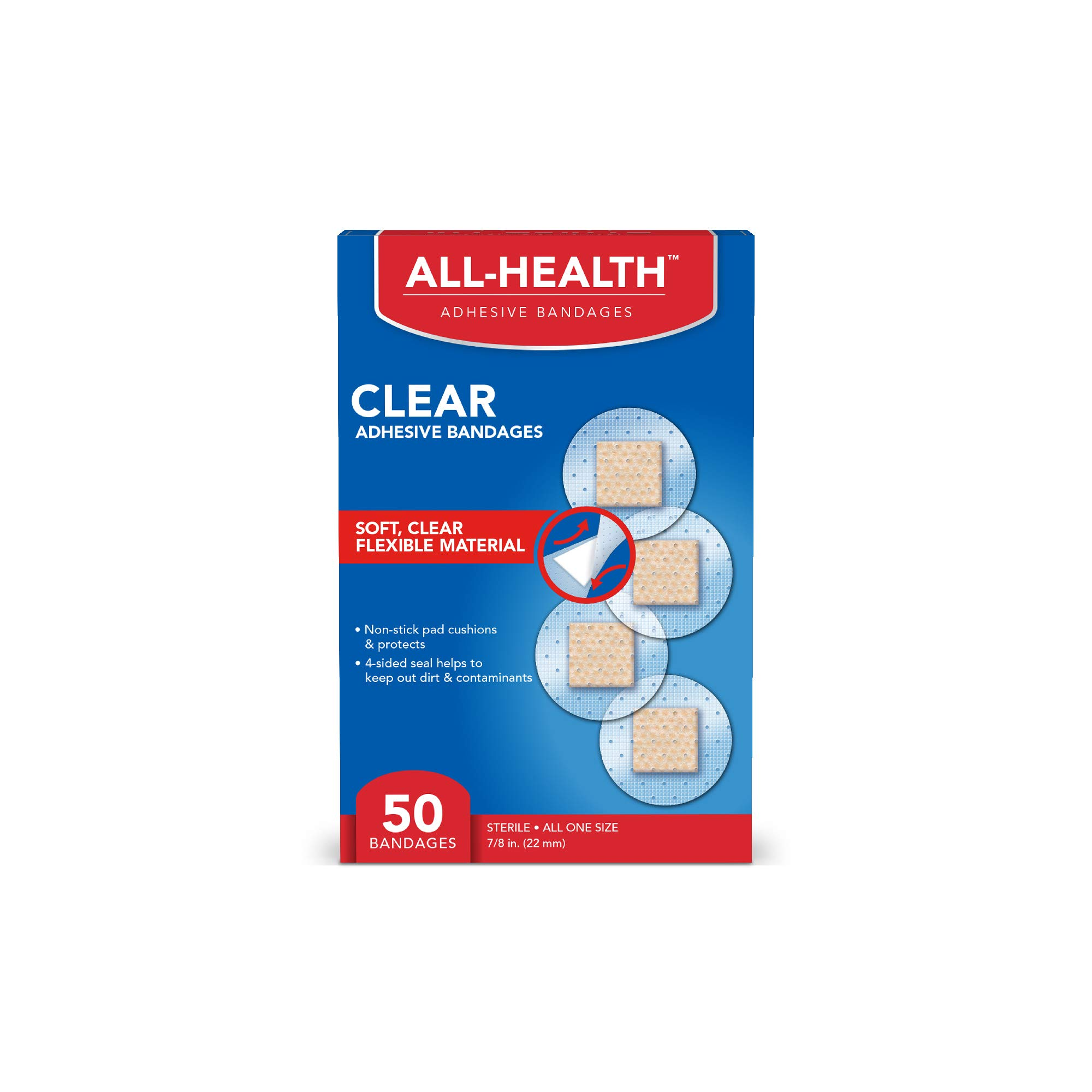 All Health Clear Spot Bandage, 50 Count