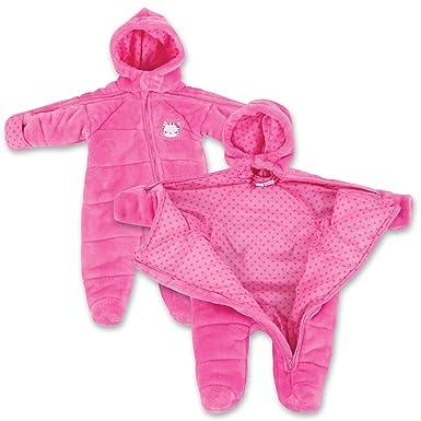 b541361ea Amazon.com: Infant Girl EZ Off Full Zip Hooded Warm Jacket - Great ...