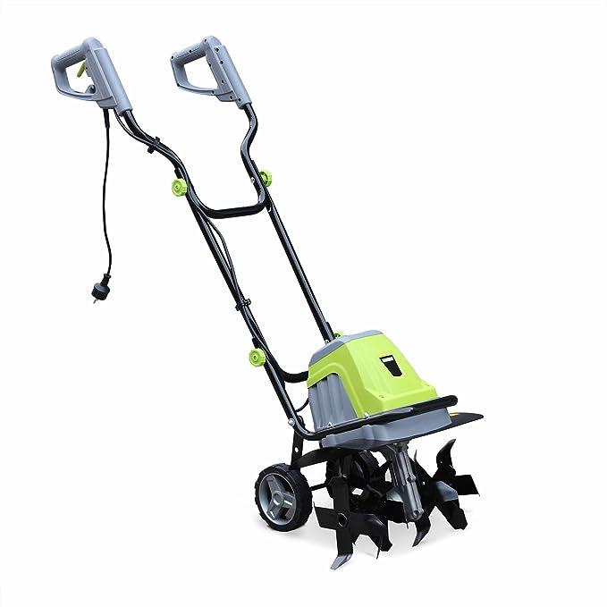 Motoazada eléctrica (1400W - 6 fresas y ancho de trabajo de 40 cm ...