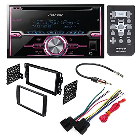 71G9lZubhOL._SY463_ amazon com pioneer fh x720bt aftermarket car stereo dash pioneer fh x720bt wiring harness at alyssarenee.co