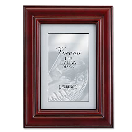 Amazon.com - Lawrence Frames Dimensional, Cherry Wood 4 by 6 Picture ...