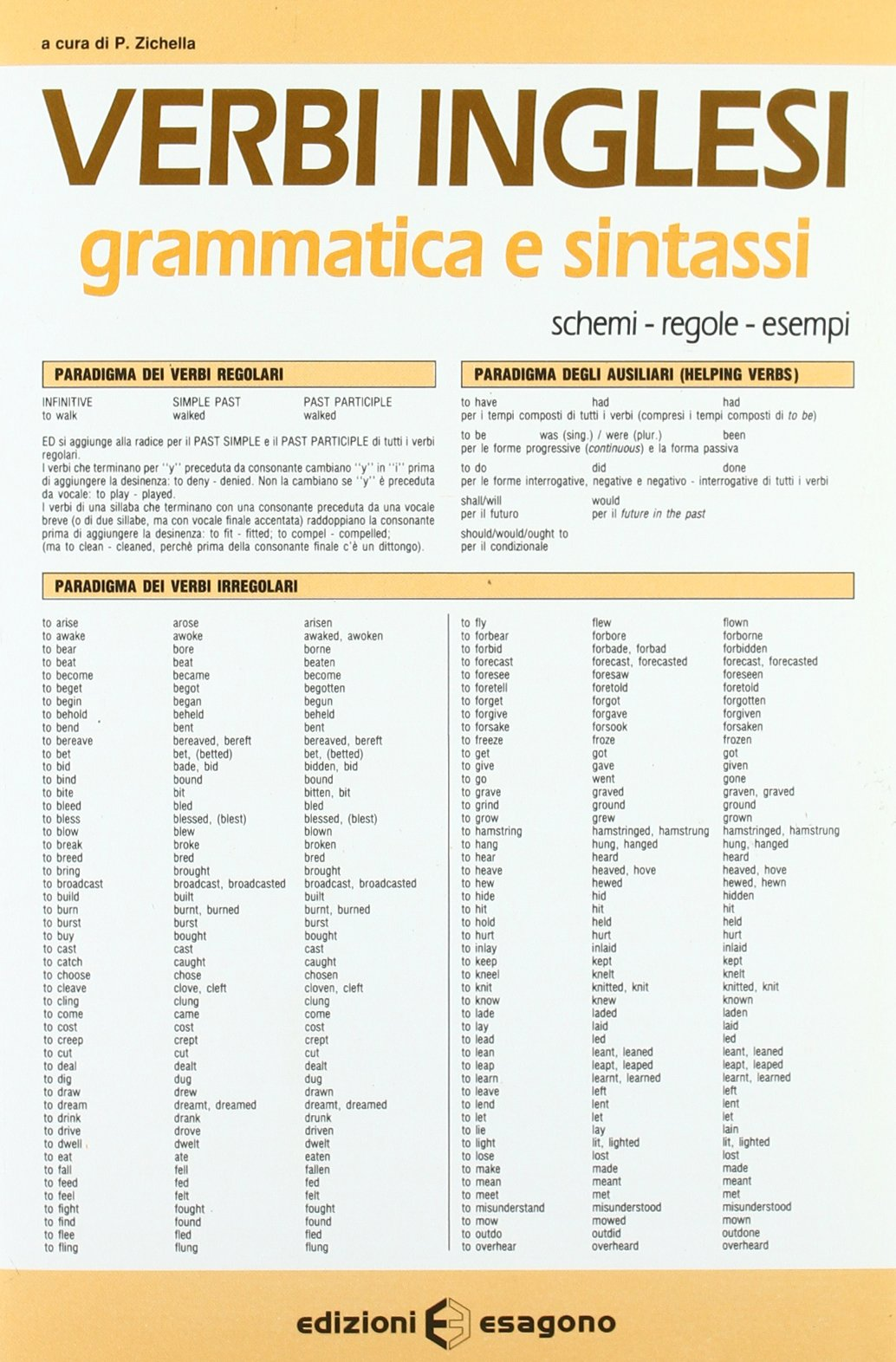 Souvent Amazon.it: Verbi inglesi. Grammatica e sintassi. Schemi, regole  JD33