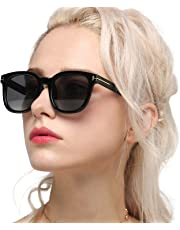 Myiaur Classic Sunglasses for Women Polarized Driving Anti Glare 100% UV Protection
