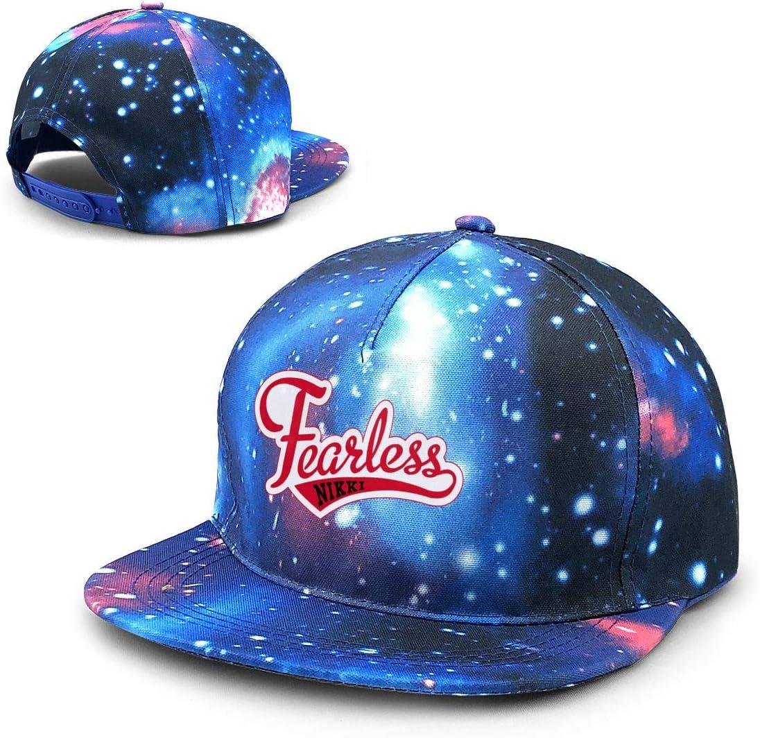 Ruajlt Fearless Nikki Starry Sky Hat Baseball Starry Hat Rap Hip Hop Dad Caps