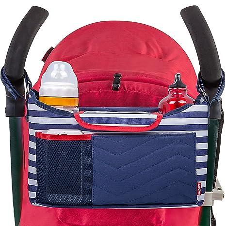lmeison bebé Stroller organizador con portátil cambio Pads/correa para el hombro/bebé cochecito