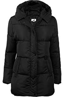31899e0079a 4How Women s Winter Coat Long Anorak Parka Quilted Padded Thick Warm Jacket