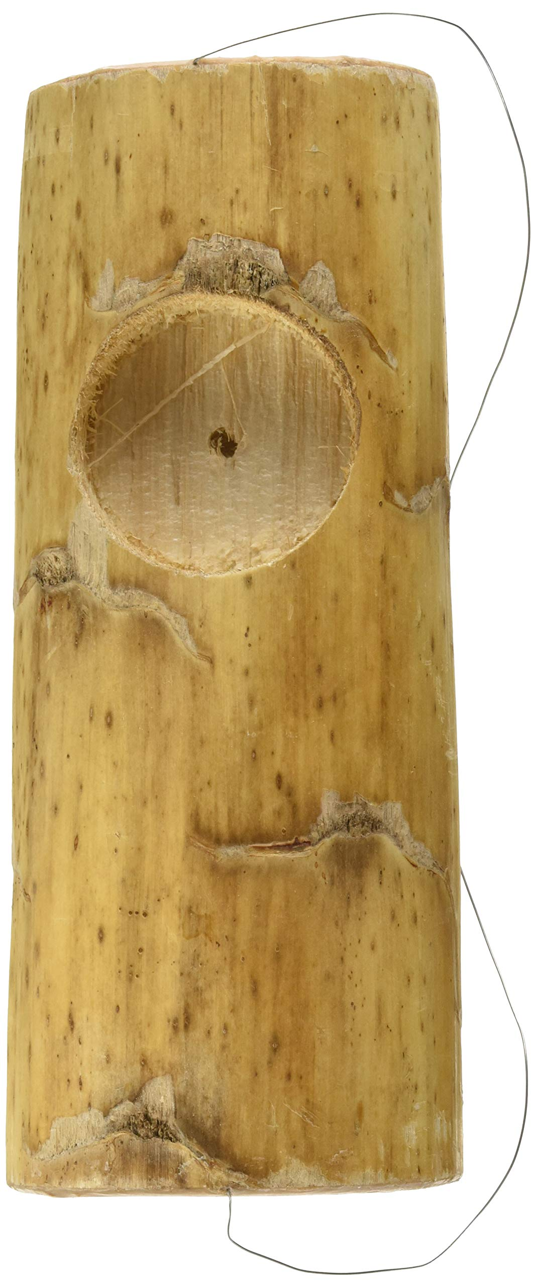 Wesco Pet Kozy Keet Woodchew Playnest Holistic Parakeet Nest by Wesco