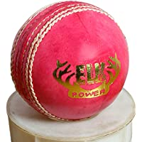 Elk Power Perfectly Hand Stitched Leather Cricket Ball Weight Approx 155g