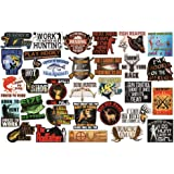 Hunting and Fishing Stickers. Adult Stickers for The Avid Hunter or Fisherman. Make Great Hunting Accessories or Fishing Acce