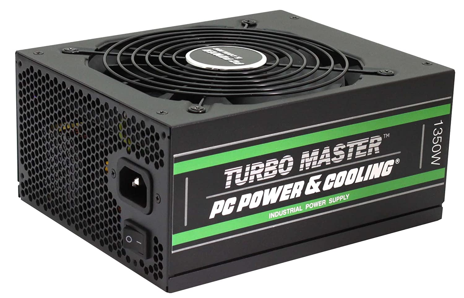 Amazon.com: PC Power & Cooling Turbo Master Series 1350 Watt, 80+ Gold, Fully-Modular, Active PFC, Quiet Industrial Grade, ATX PC Power Supply, ...