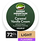 Green Mountain Coffee Roasters Caramel Vanilla Cream Coffee Keurig Single-Serve K-Cup Pods, 72 Count (6 boxes of 12 Pods)
