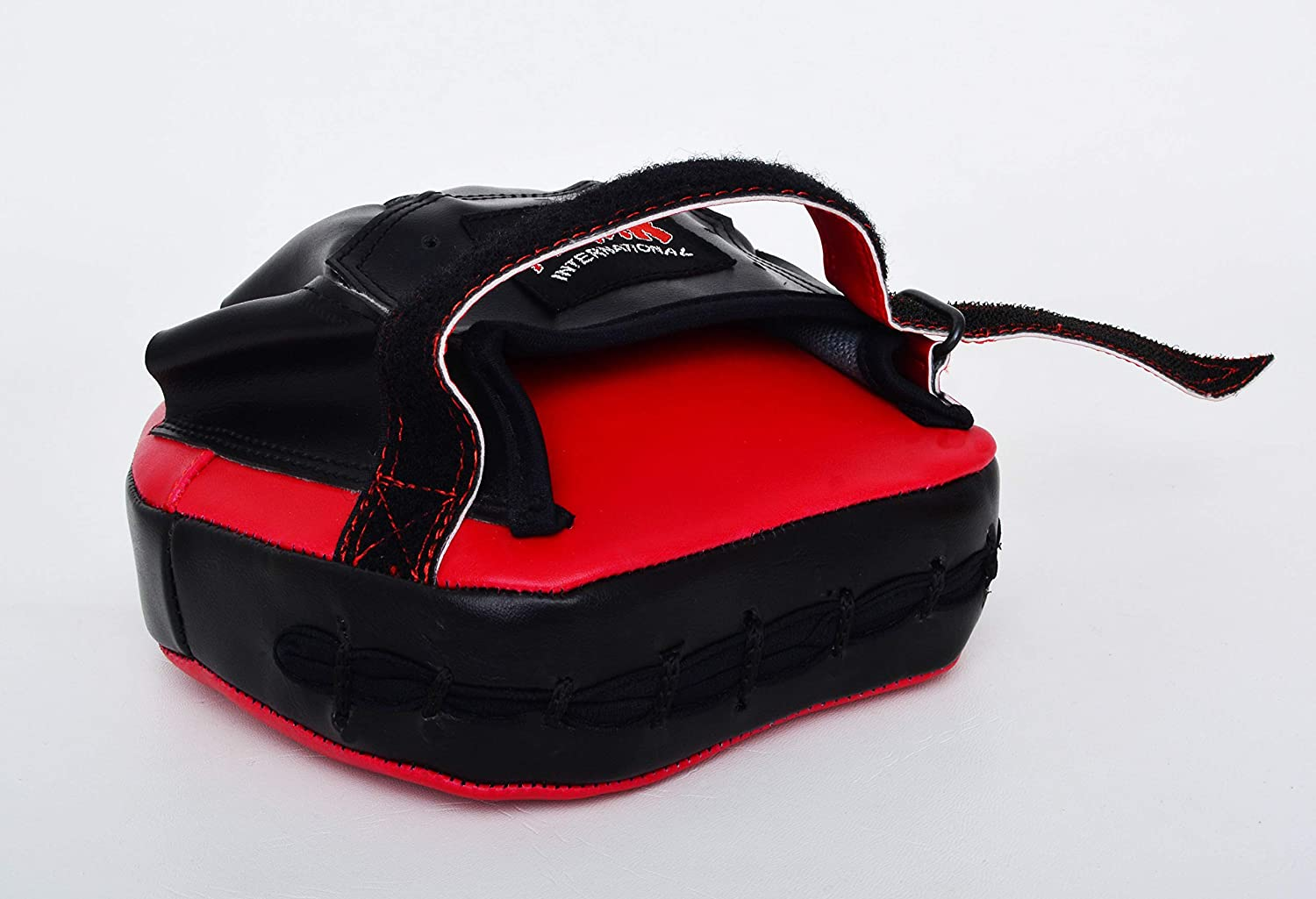 MAR International Red /& Black Small Pro Curved Focus Mitts