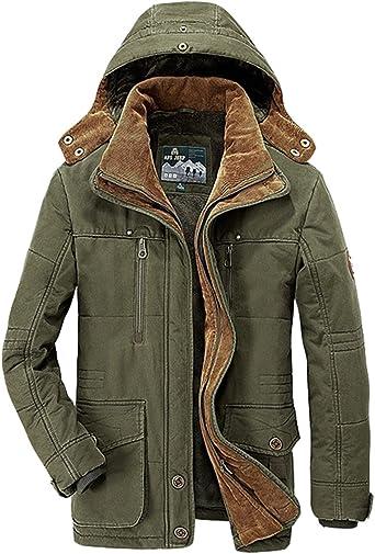 Military Parka Jacket Mens