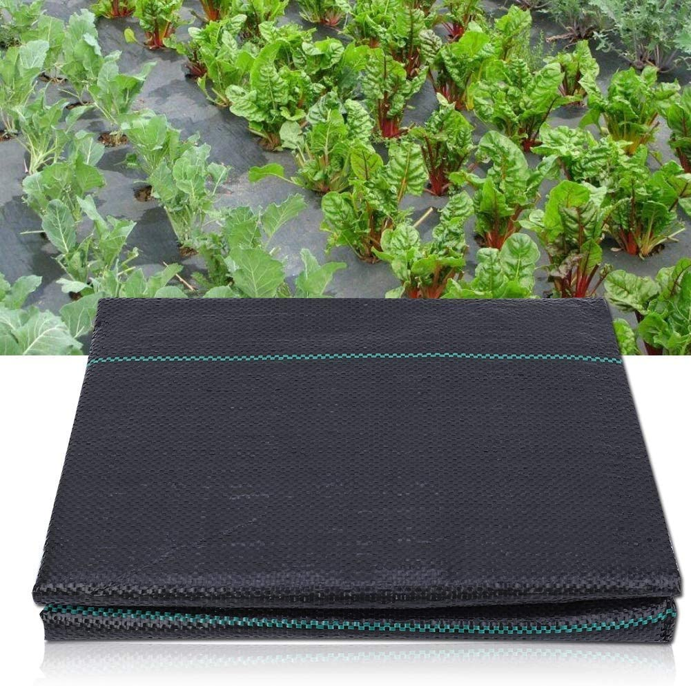 Jeffergrill Anti Weed Garden Ground Weed Control Fabric Agriculture Garden Ground Cloth Cover Weed Barrier Fabric Easy Setup /& Superior Weed Control 1 * 10m