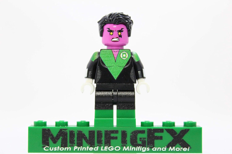 LEGO Custom Green Lantern Soranik Natu Minifig DC Comics Superhero