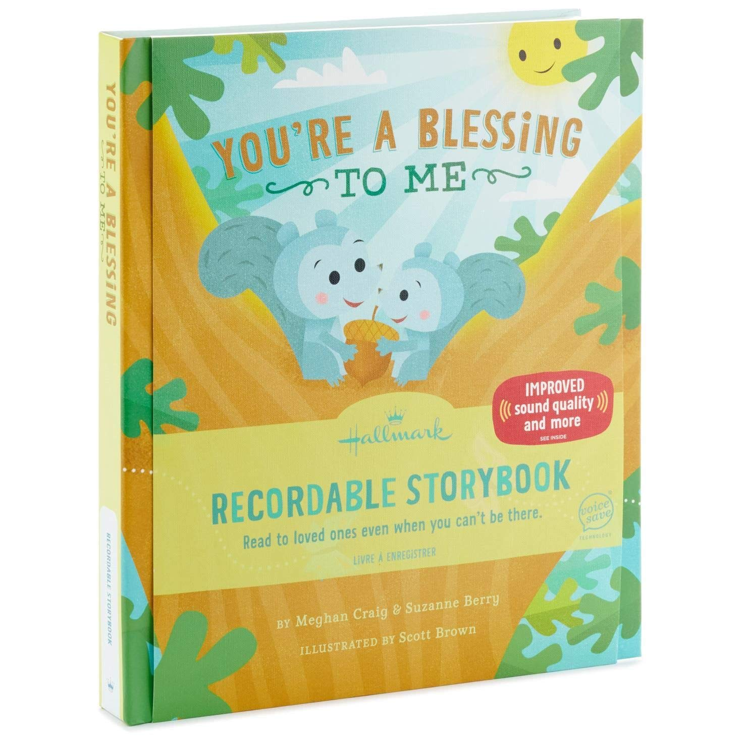 Hallmark You're a Blessing to Me Recordable Storybook Recordable Storybooks Religious Juvenile Nonfiction