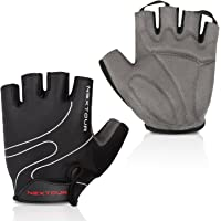 Tanluhu Biking Gloves Mountain Bike Gloves Half Finger Road Racing Riding Gloves Absorbing Padded Breathable Cycling…
