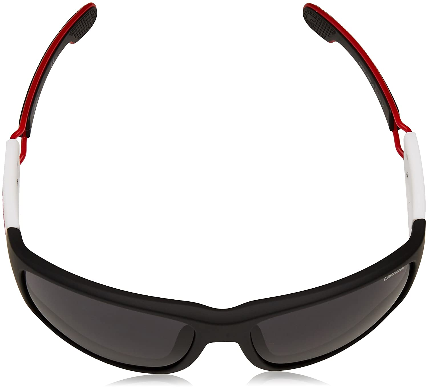 a32c0f9be05 Amazon.com  Carrera 4006 S 4NLIR (Matt Black - White with Grey lenses)   Clothing