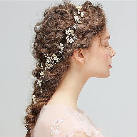 Jovono Horquillas de pelo para novia c3bfad954dde