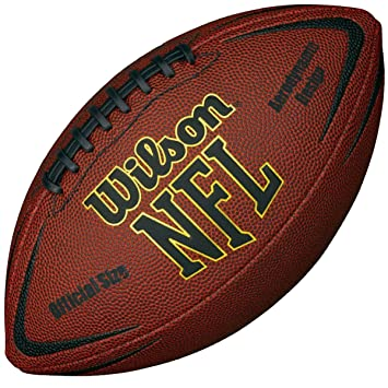 9a4bf60dcde Wilson 2017 NFL Force Official Size American Football  Amazon.co.uk ...