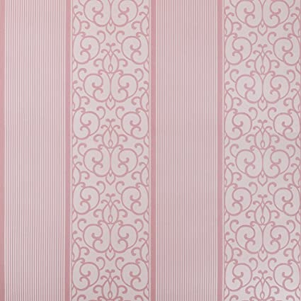 Sicohome Pink Wallpaper Thick 11 Yards Amazon Com