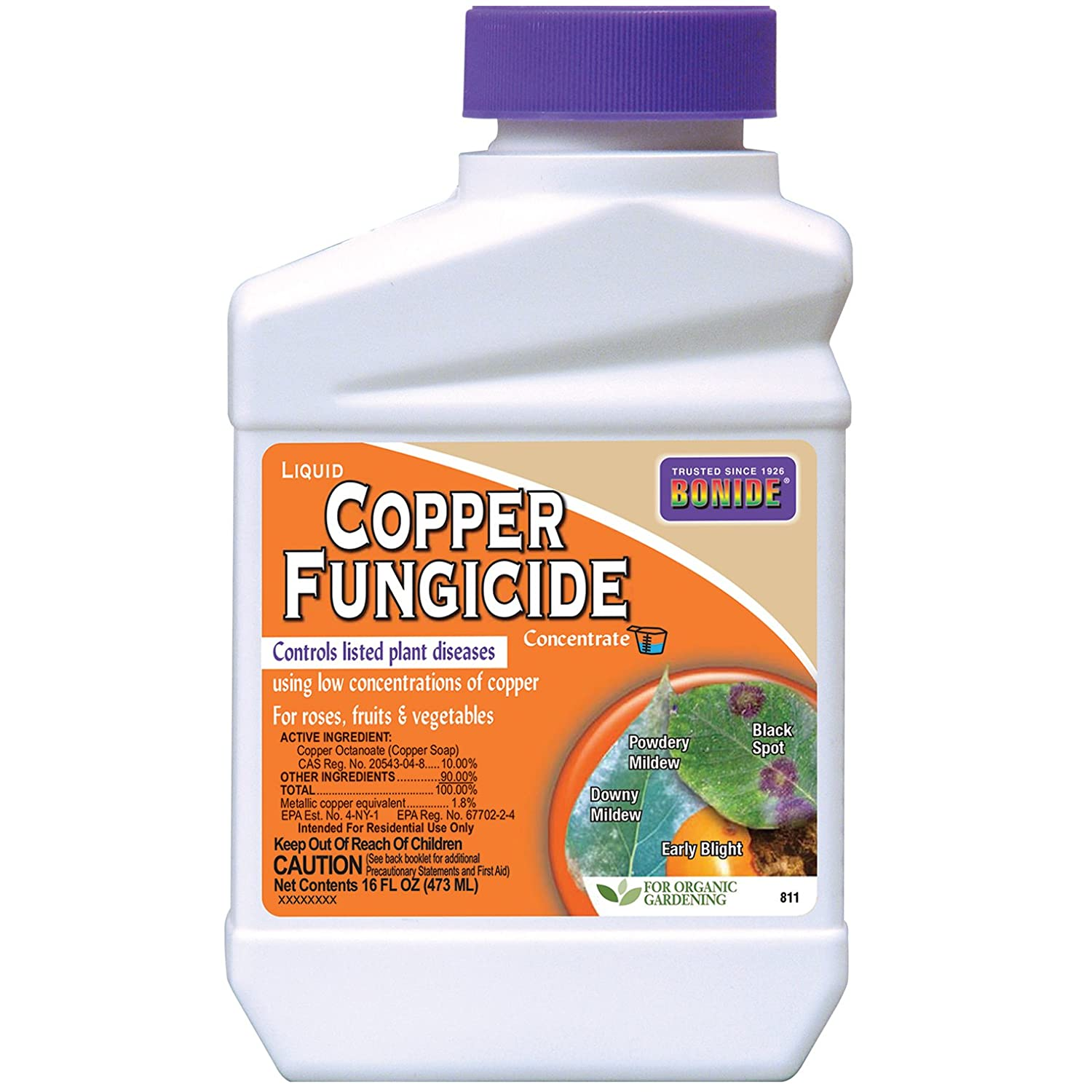Bonide 811 Copper 4E Fungicide 16oz