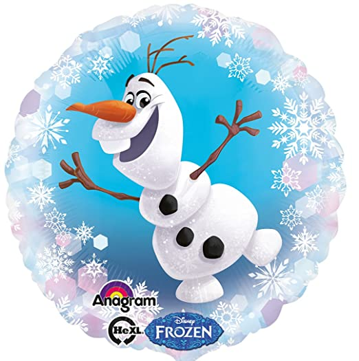 Globo * MUÑECO DE NIEVE OLAF * Para fiesta de cumpleaños o ...