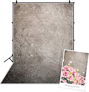 DASHAN 3x5ft Polyester One Year Boy Cake Smash 1st Birthday Backdrop Grunge Wall Head Shots Food Photography Background Personal Newborn Portrait Online Store Product Tea Party YouTube Photo Props