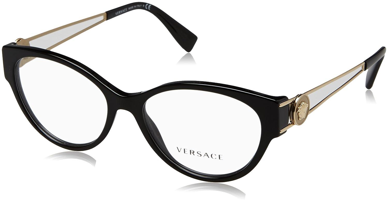 7a98680b7ed Amazon.com  Versace Women s VE3254 Eyeglasses 52mm  Clothing