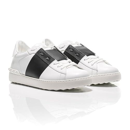 Black Black Uomo Valentino Eu white Sneaker 40 And White BzqYUO