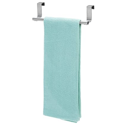 Amazon Com Idesign Forma Metal Over The Cabinet Bar Hand Towel And