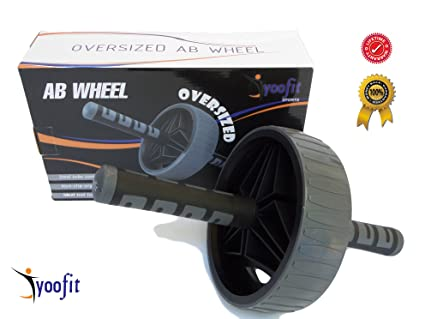 Honest Lifeline Power Wheel For Ultimate Core Training Simultaneously Works Up To 20 In Fitness, Running & Yoga