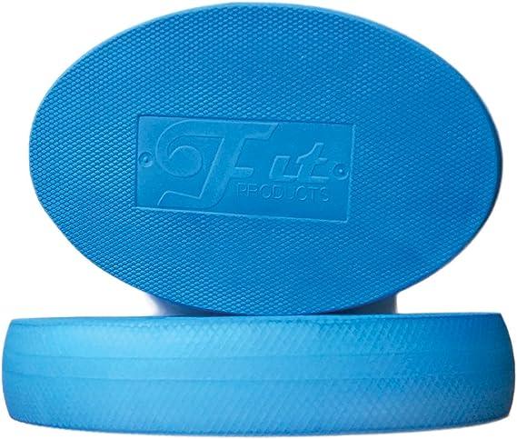 Kampfkunst Balance//Ausdauer//Kernstabilit/ät//Krafttraining Yoga Bewegungsrehabilitation und vieles mehr! Pilates FitProducts Oval Balance Pads: Ideal f/ür Physiotherapie