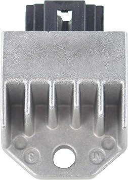 AC//DC Voltage Regulator Rectifier for Yamaha Mountain Max//Phazer//SX//Venture//V-Max 500 600 700 1999 2000 2001 OEM Repl.# 8CR-81960-00-00 8DX-81960-00-00