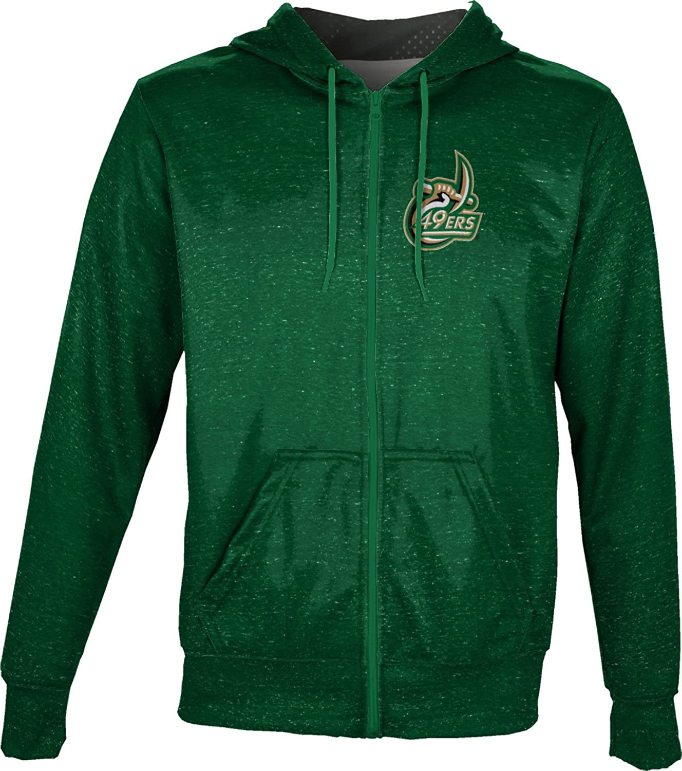Heather ProSphere University Of North Carolina at Charlotte Boys Fullzip Hoodie