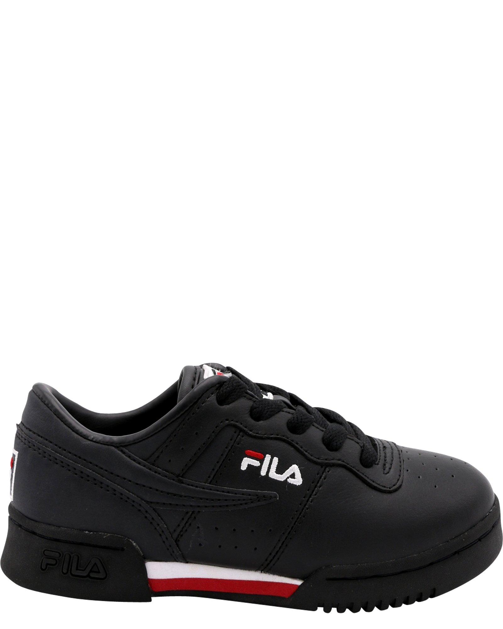 Fila Kid's Original Fitness Sneakers Black/White/Fila Red 1