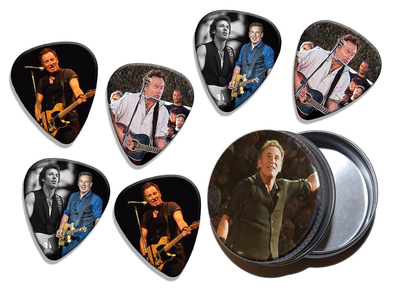 Bruce Springsteen (WK) 6 X Live Performance Guitarra Picks in Tin ...