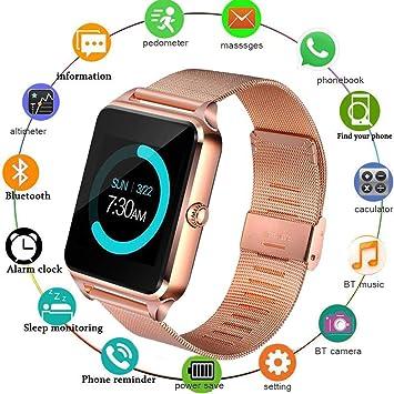 Reloj inteligente con ranura para tarjeta SIM, Z60 reloj ...