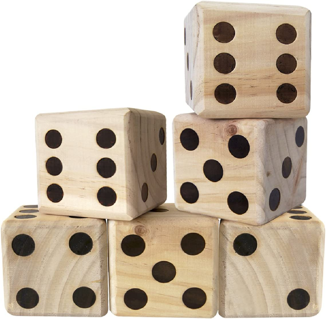 Yencoly Indoor outdoor activities Creative dice dice portable dice games for pool parties for party games green